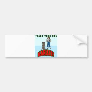 Dog Karate 2 Bumper Sticker