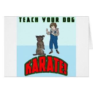 Dog Karate 2 Card