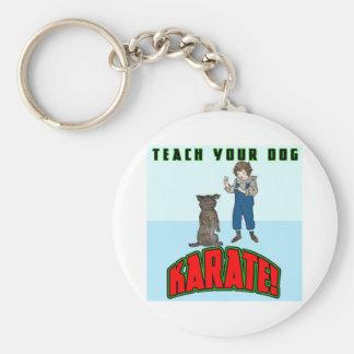 Dog Karate 2 Keychain