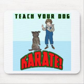 Dog Karate 2 Mouse Pad