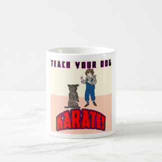 Dog Karate 3 Coffee Mug