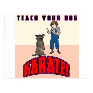 Dog Karate 3 Postcards
