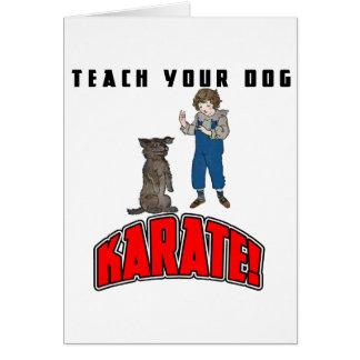 Dog Karate 4 Card