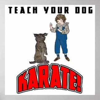 Dog Karate 4 Poster