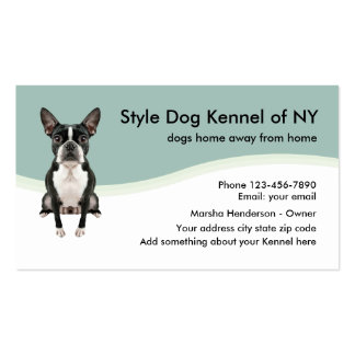 Dog Kennel Business Card