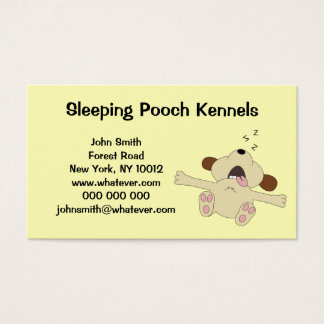 Dog Kennels Personalized Business Card