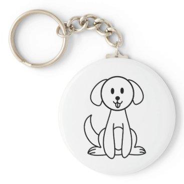 jasmineflynn Dog Keychain