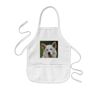 dog kids' apron