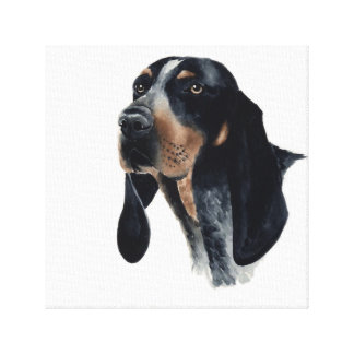 Dog Kunhaund!Beautifull portrait on canvas!Buy now Canvas Print