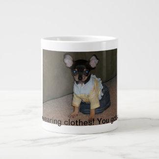 dog large coffee mug