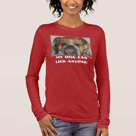 Dog Lick Long Sleeve T-Shirt