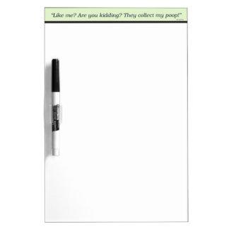 Dog Love Dry-Erase Whiteboards