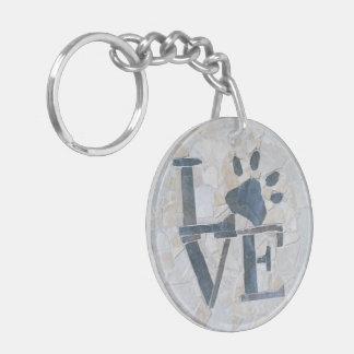 Dog Love Keychain