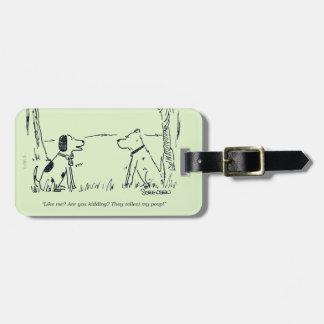 Dog Love Luggage Tag