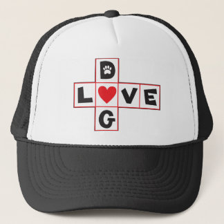 Dog Love Trucker Hat