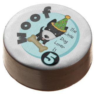 Dog Lover 5th Birthday Dipped Oreos and Pops