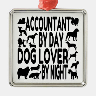 Dog Lover Accountant Ornament