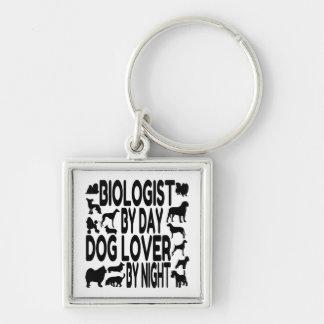 Dog Lover Biologist Keychain
