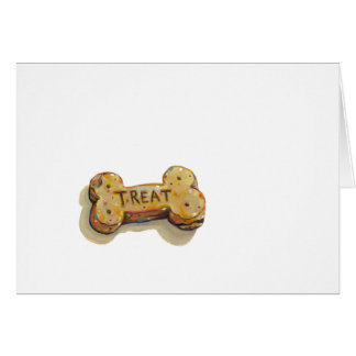 Dog lover blank note cards fun treat art painting