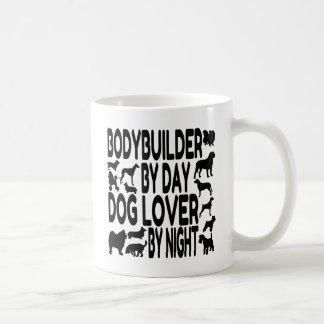 Dog Lover Bodybuilder Classic White Coffee Mug