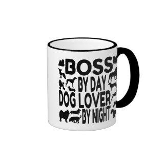 Dog Lover Boss Mugs