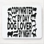 Dog Lover Copywriter Mouse Pad