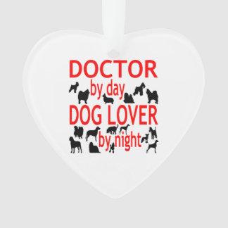 Dog Lover Doctor Ornament