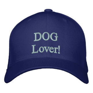 DOG Lover! Embroidered Cap Embroidered Baseball Cap