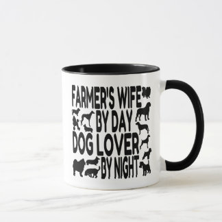 Dog Lover Farmers Wife Mug