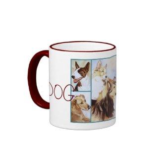 DOG Lover Fine Art Mug