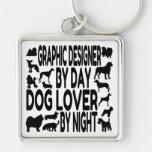 Dog Lover Graphic Designer Key Chains