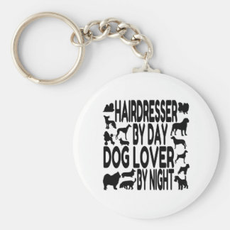 Dog Lover Hairdresser Key Chain