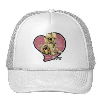 Dog Lover - Heart Trucker Hat