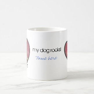 Dog Lover - Heart Classic White Coffee Mug