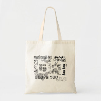 Dog Lover - How to Say I Love You Bags