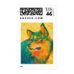 Dog Lover Husky Animal Devotion Stamps