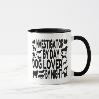 Dog Lover Investigator Mug