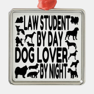 Dog Lover Law Student Ornaments