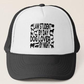 Dog Lover Law Student Trucker Hat