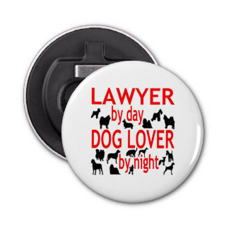 Dog Lover Lawyer in Red