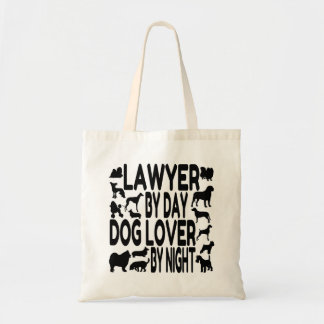 Dog Lover Lawyer Tote Bag