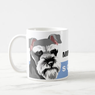 Dog Lover Miniature Schnauzer Coffee Mug