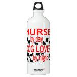 Dog Lover Nurse in Red SIGG Traveler 1.0L Water Bottle