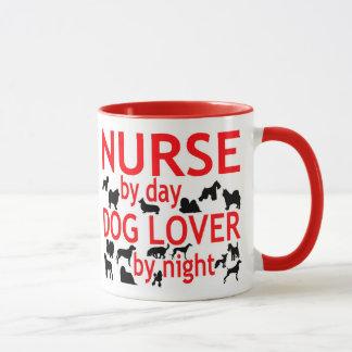 Dog Lover Nurse Mug