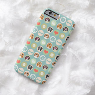 Dog Lover Pattern Barely There iPhone 6 Case