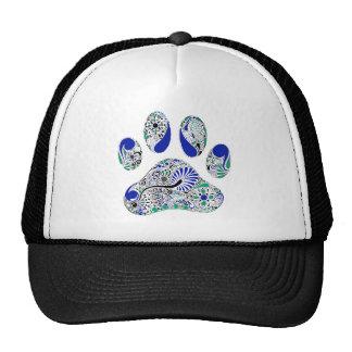 Dog Lover Paw Print Trucker Hat