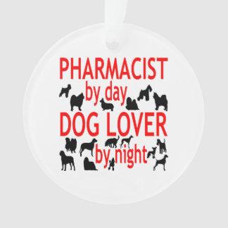 Dog Lover Pharmacist in Red Ornament