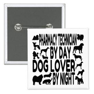 Dog Lover Pharmacy Technician Pinback Button