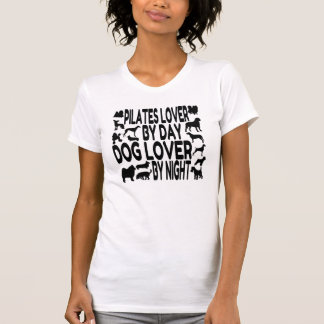 Dog Lover Pilates Lover Tshirts