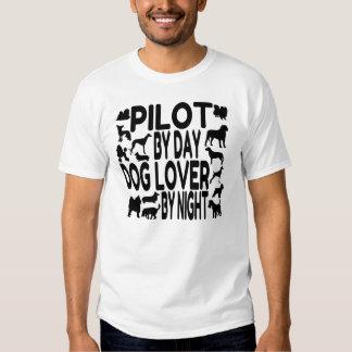 Dog Lover Pilot Shirts